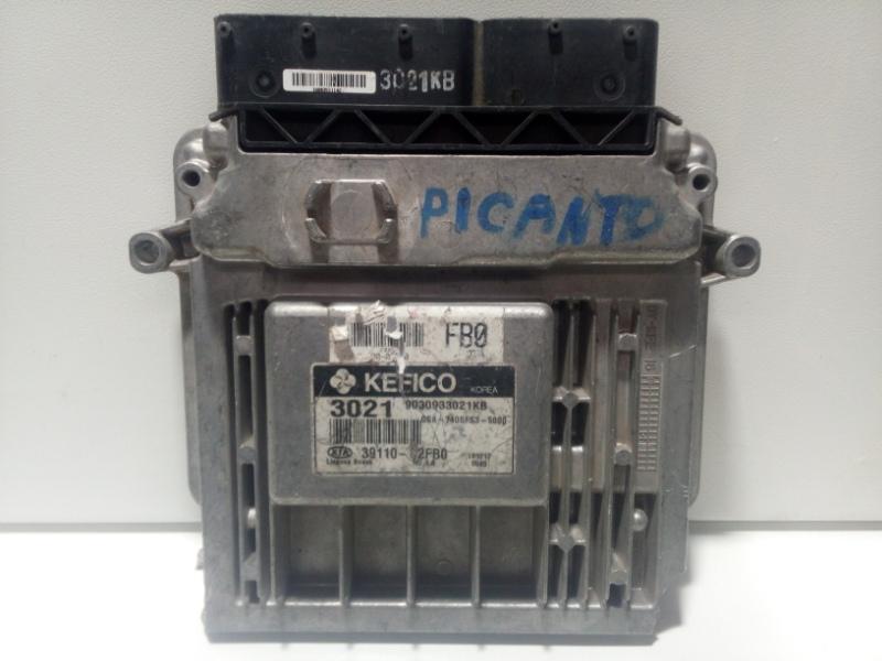Блок управления двигателем Kia Picanto 1 SA 2004 3911002FB0 (б/у)