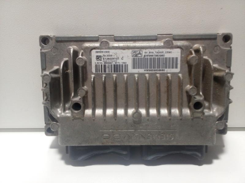 Блок управления акпп Peugeot 307 3A 2001 9661983980 (б/у)