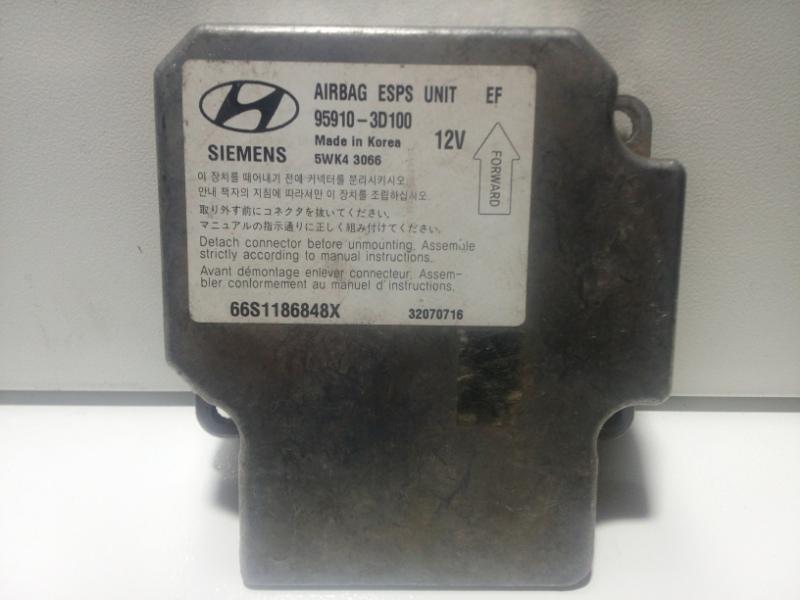 Блок управления air bag Hyundai Sonata 4 EF 2001 959103D100 (б/у)