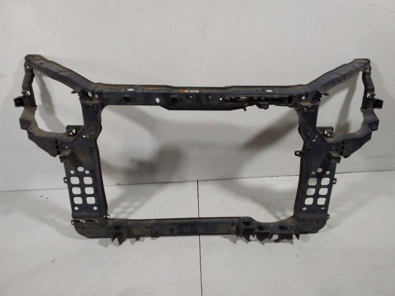 Панель передняя (телевизор) Kia Sorento 2 XM 2012 передний 641012P500 (б/у)
