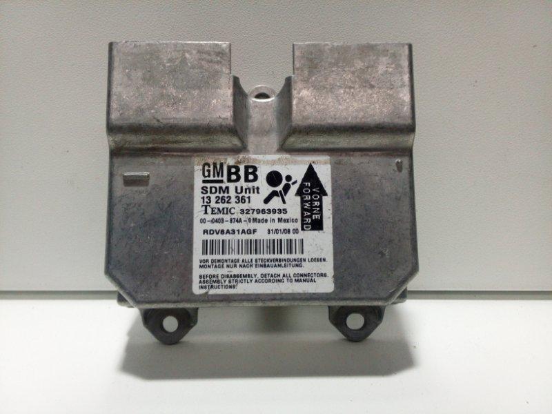 Блок управления двигателем Opel Corsa D D 2006 13262361 (б/у)