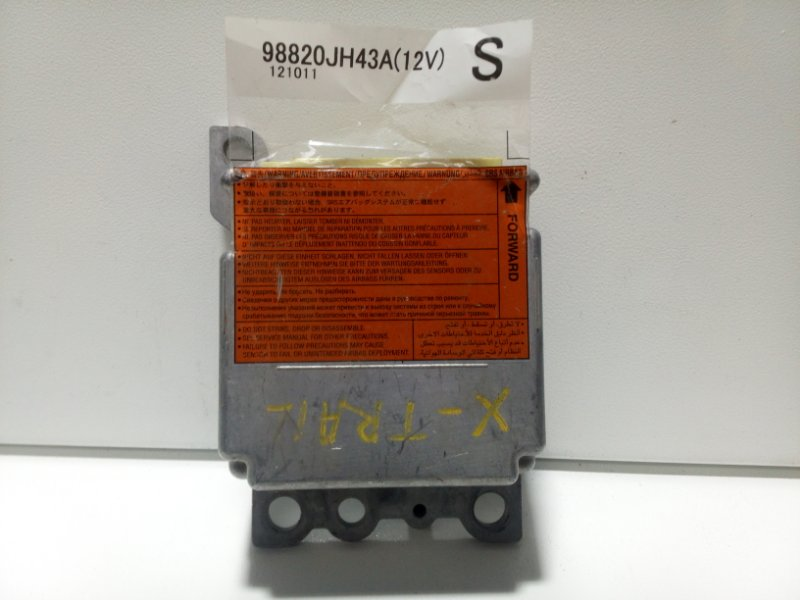 Блок управления air bag Nissan X-Trail 2 T31 2007 K98820JH43A (б/у)