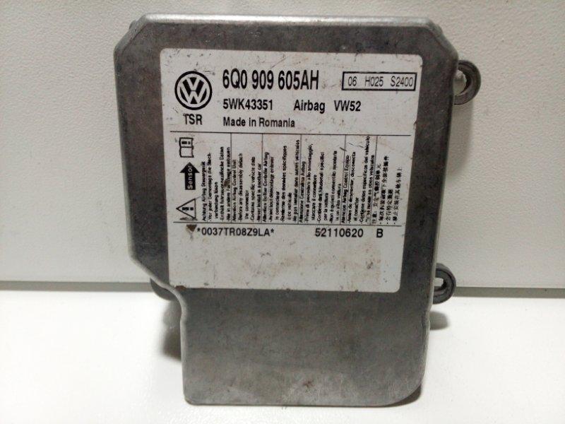 Блок управления air bag Skoda Octavia A5 A5 2008 6Q0909605AH000 (б/у)