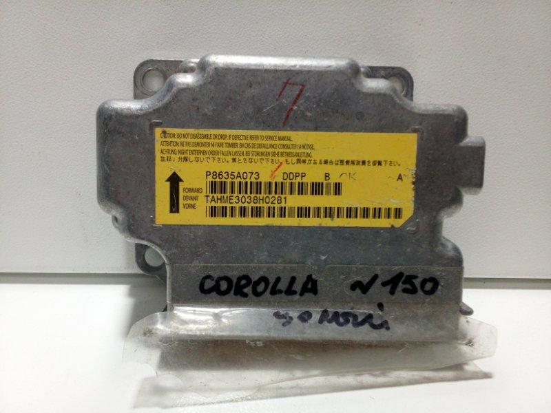 Блок управления air bag Mitsubishi Lancer 10 CX 2007> 8635A073 (б/у)