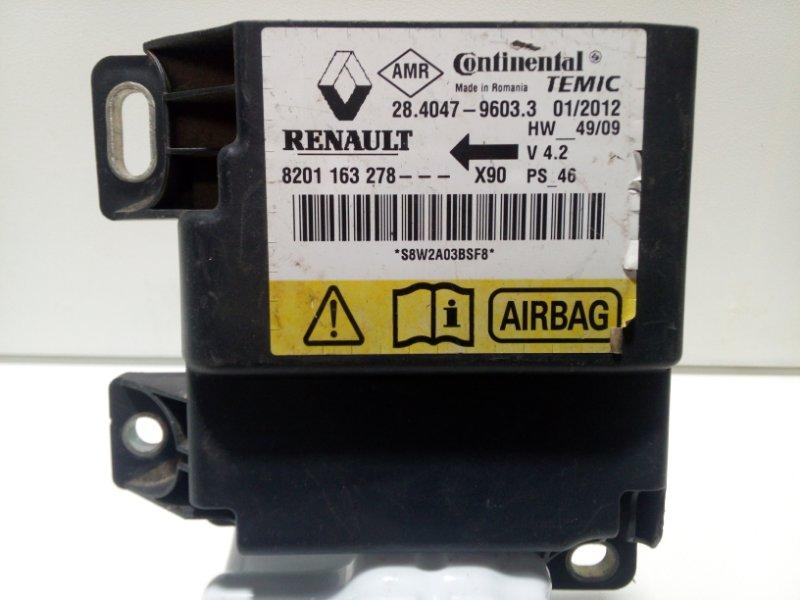 Блок управления air bag Renault Sandero 1 LS 2009 985102122R (б/у)