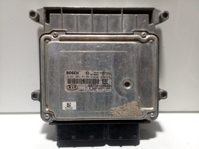 Блок управления двигателем Kia Ceed 1 ED 2007 391102B640 (б/у)