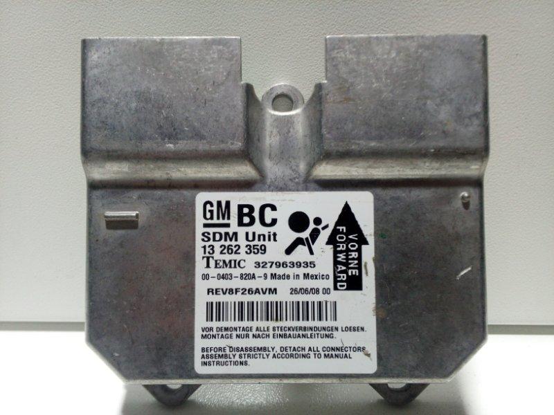 Блок управления air bag Opel Corsa D D 2006 13262359 (б/у)
