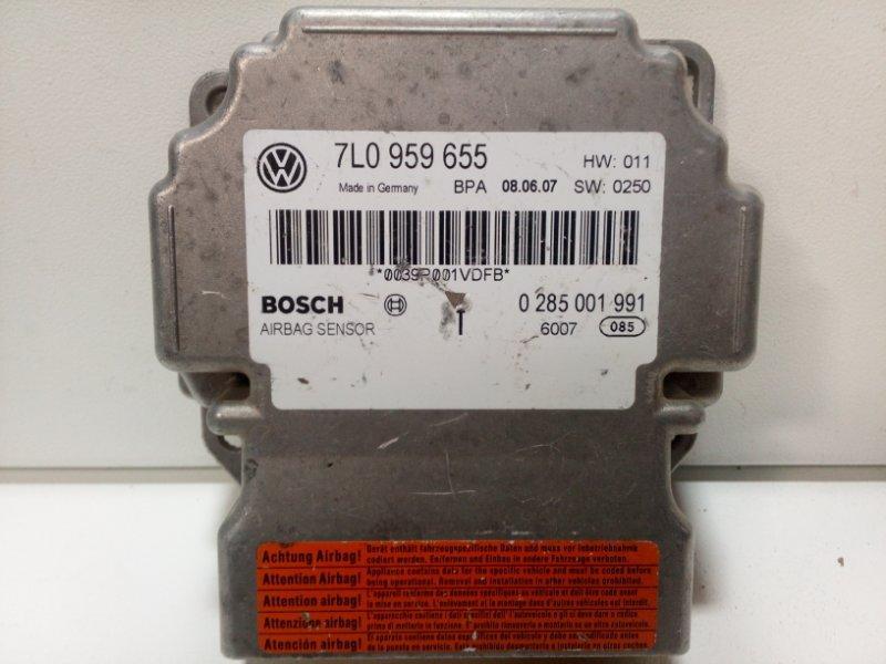 Блок управления air bag Porsche Cayenne 1 955 2002 95561821911 (б/у)