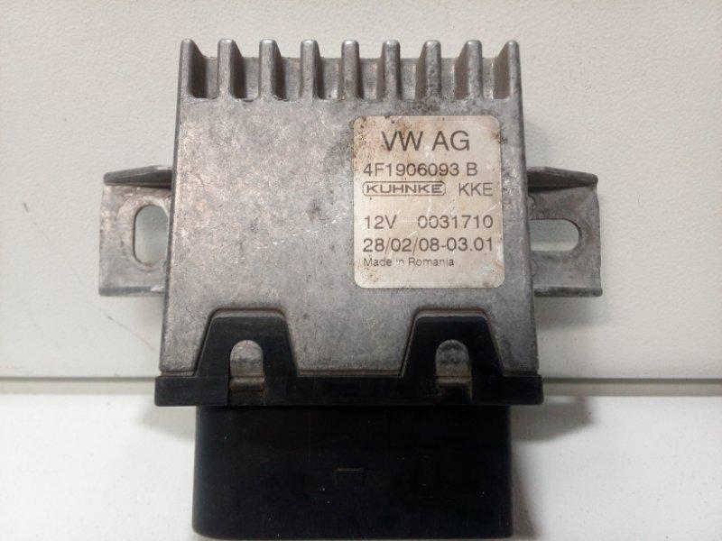 Блок управления топливным насосом Audi Q7 4L 2005 4F1906093B (б/у)