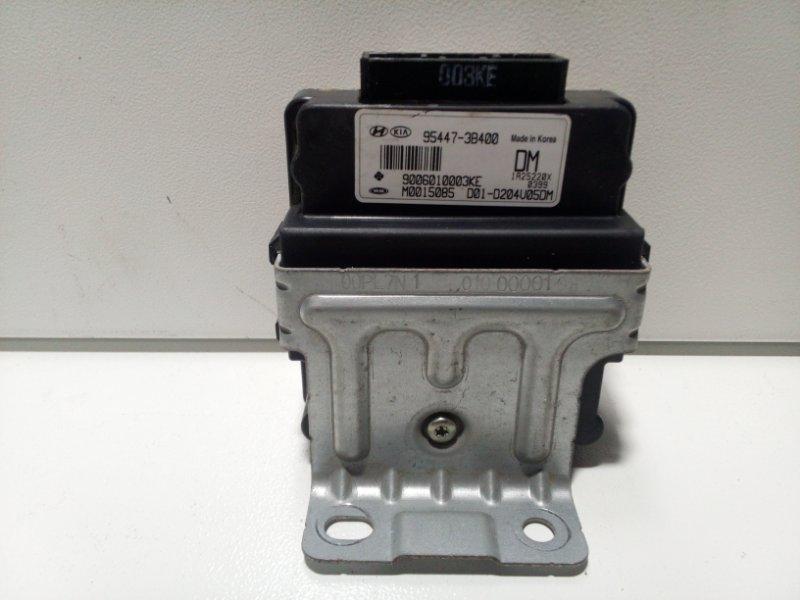 Блок управления раздаточной коробкой Kia Sorento 2 XM 2009> 954473B400 (б/у)