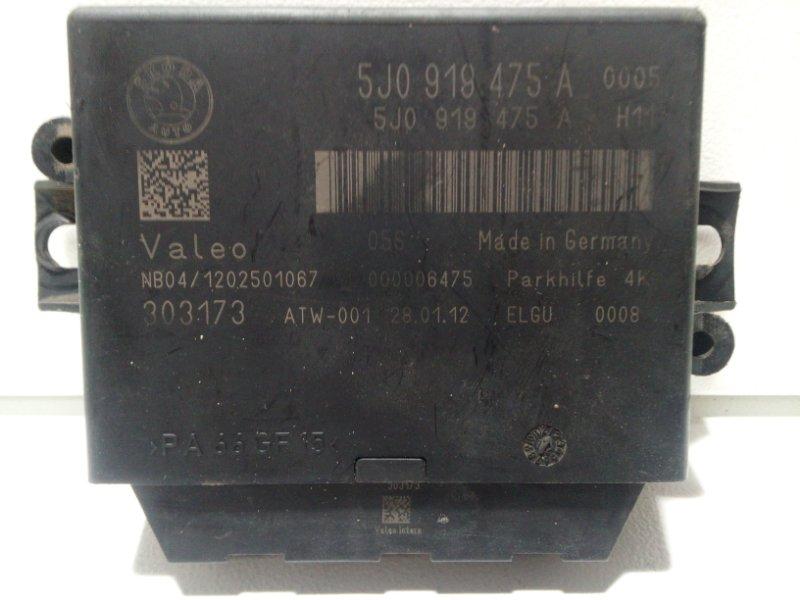 Блок управления парктроником Skoda Octavia A5 A5 2008 5J0919475A (б/у)