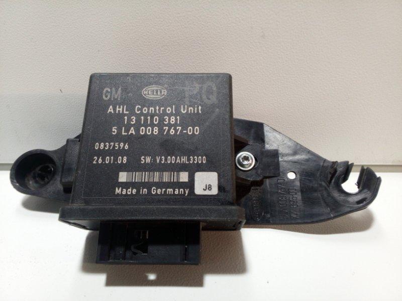 Блок управления светом Opel Astra H L48 2004 13110381 (б/у)