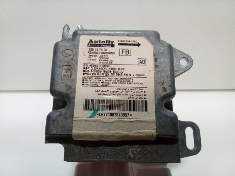 Блок управления air bag Nissan Almera Classic B10 2006 605147800 (б/у)