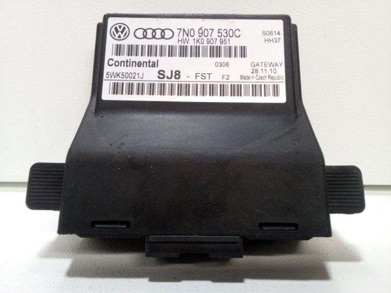 Блок электронный Skoda Yeti 5L 2009> 7N0907530C (б/у)