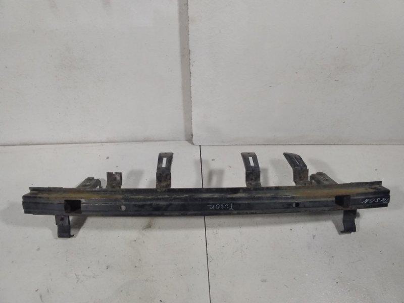 Усилитель заднего бампера Hyundai Tucson 1 JM 2004 задний 866302E000 (б/у)