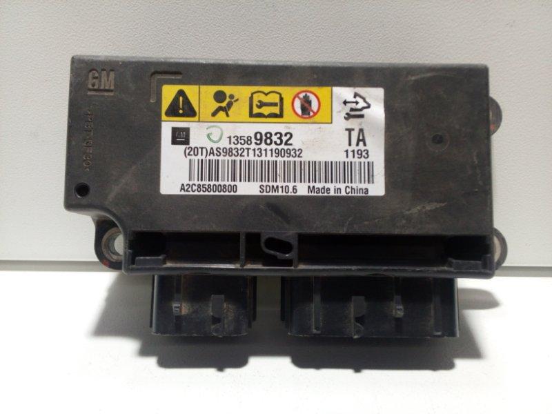 Блок управления air bag Chevrolet Aveo T300 T300 2011> 13592405 (б/у)