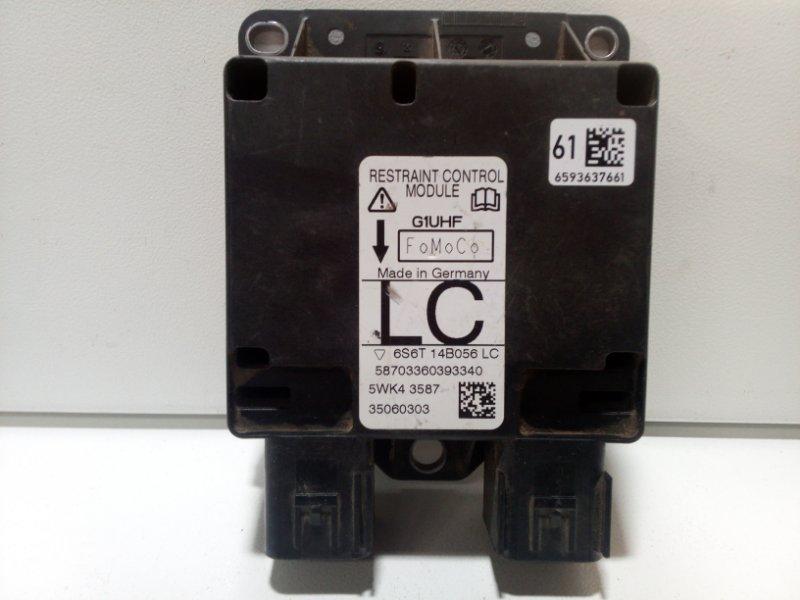 Блок управления air bag Ford Fusion CBK 2005 1438909 (б/у)