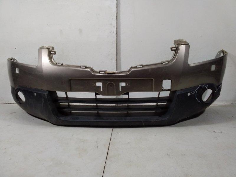 Бампер передний Nissan Qashqai 1 J10 2006 62022JD00H (б/у)