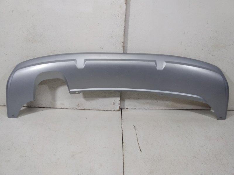Накладка заднего бампера Skoda Yeti 5L 2009> задняя 5L6807835DU34 (б/у)