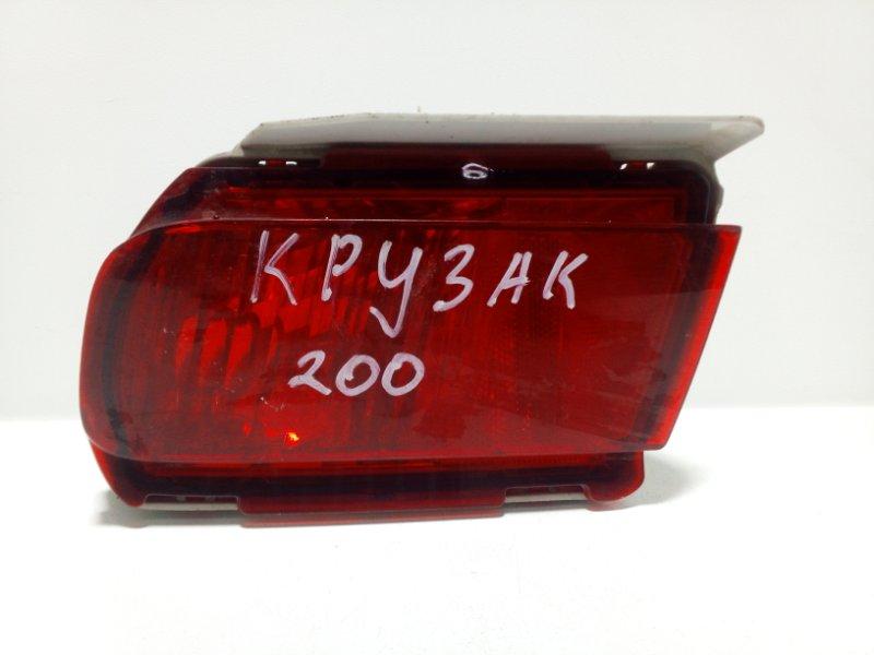 Фонарь противотуманный Toyota Land Cruiser Prado 150 J150 2009> задний левый 8159160270 (б/у)