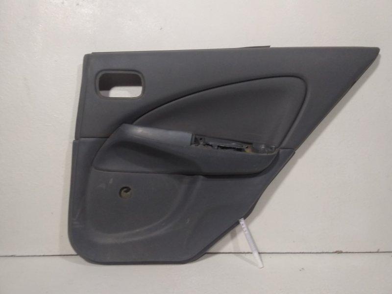 Обшивка двери задней правой Nissan Almera Classic B10 2000 задняя правая 82900BN800 (б/у)