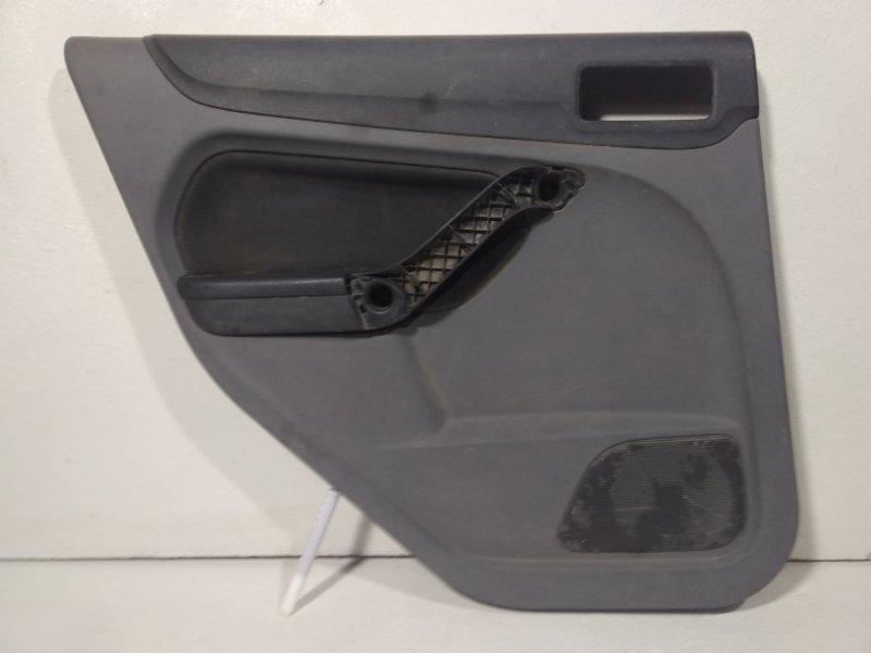 Обшивка двери задней левой Ford Focus 2 CB4 2005 задняя левая 1515459 (б/у)
