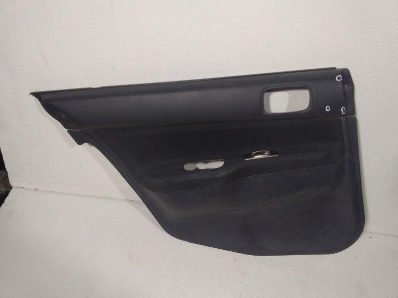 Обшивка двери задней левой Mitsubishi Lancer 9 CS 2003 задняя левая MR444251 (б/у)