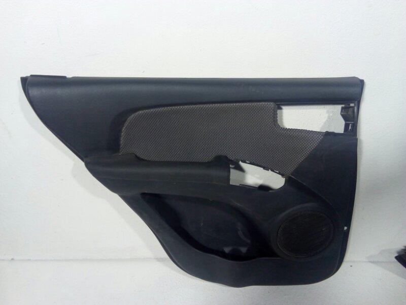 Обшивка двери Kia Sportage 2 KM 2004 задняя левая 833011F010W3 (б/у)