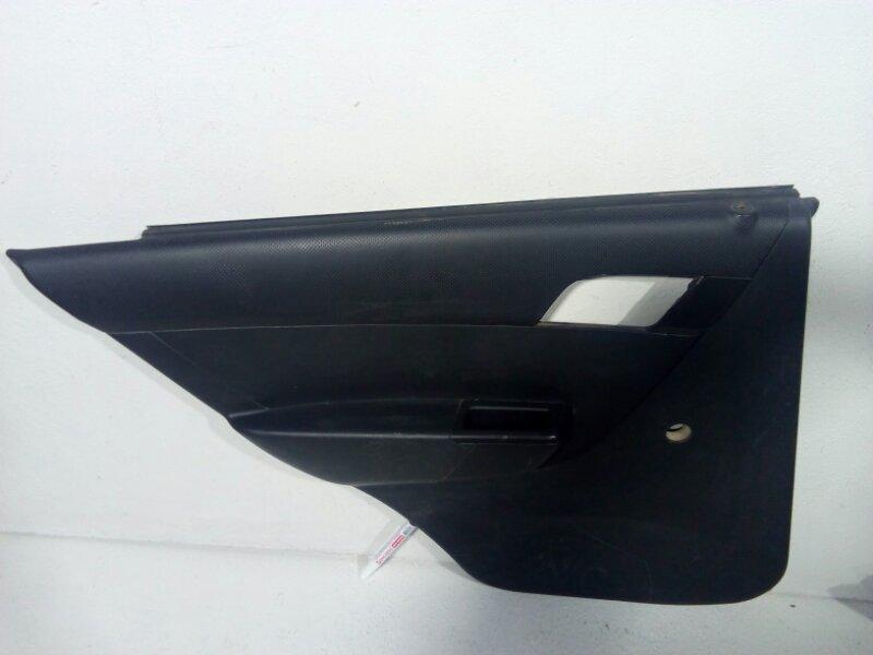 Обшивка двери задней левой Chevrolet Aveo T250 T250 2005 задняя левая 96649749 (б/у)