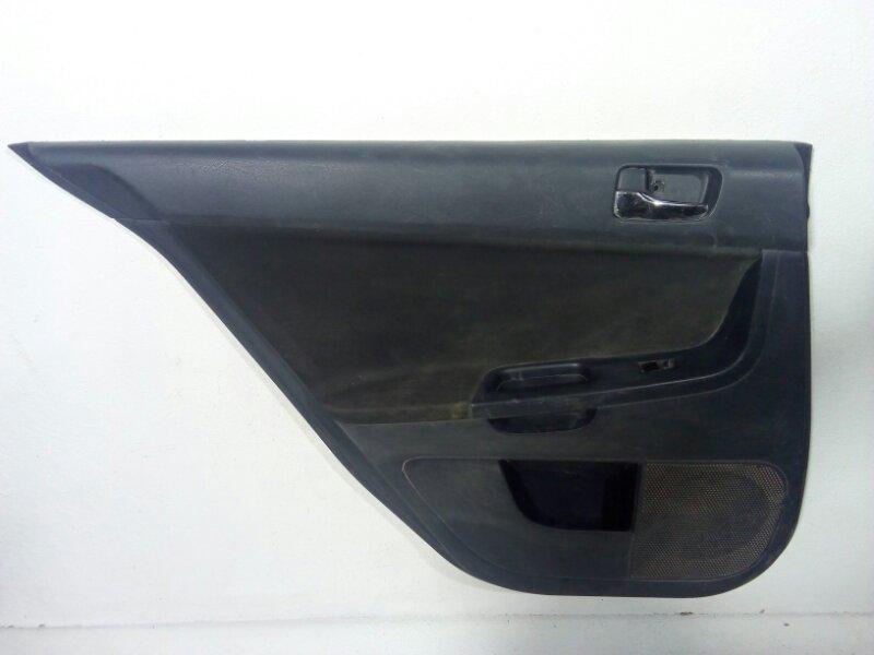 Обшивка двери задней левой Mitsubishi Lancer 10 CX 2007> задняя левая 7222A433XG (б/у)