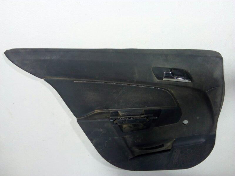 Обшивка двери задней левой Opel Astra H L48 2004 задняя левая 13177097 (б/у)