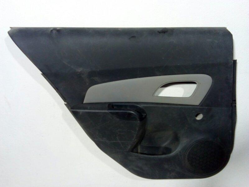 Обшивка двери задней левой Chevrolet Cruze J300 2009 задняя левая 95184754 (б/у)