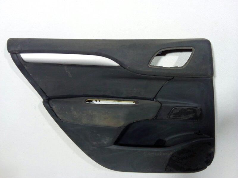 Обшивка двери задней левой Citroen C4 B7 2011> задняя левая 9346QJ (б/у)