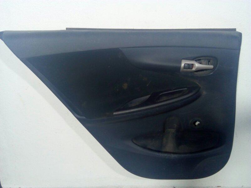 Обшивка двери задней левой Toyota Corolla 150 E150 2006 задняя левая 6764012E10B1 (б/у)
