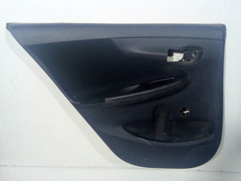 Обшивка двери задней левой Toyota Corolla 150 E150 2007 задняя левая 6777612080 (б/у)