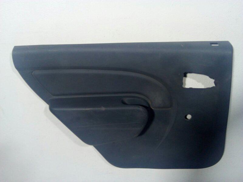 Обшивка двери задней левой Renault Logan 1 LS 2005 задняя левая 6001551255 (б/у)