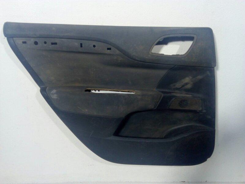 Обшивка двери Citroen C4 задняя левая (б/у)