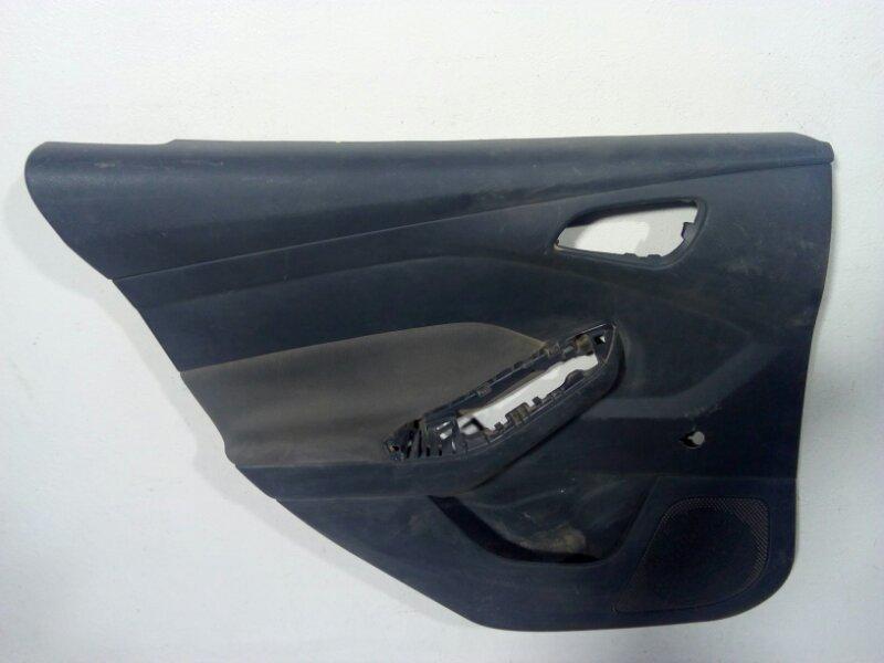 Обшивка двери задней левой Ford Focus 3 CB8 2011 задняя левая 2006700 (б/у)