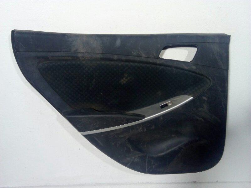 Обшивка двери задней левой Hyundai Solaris 1 RB задняя левая 833014L020PBW (б/у)