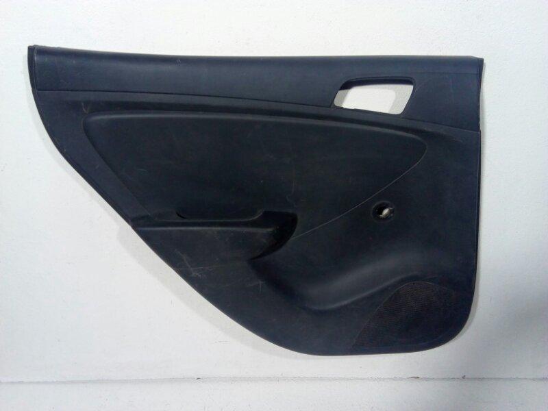 Обшивка двери Hyundai Solaris 1 RB 2010 задняя левая 833014L000RY (б/у)