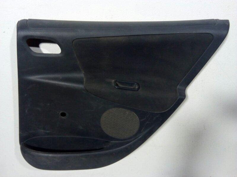 Обшивка двери Peugeot 207 задняя правая (б/у)