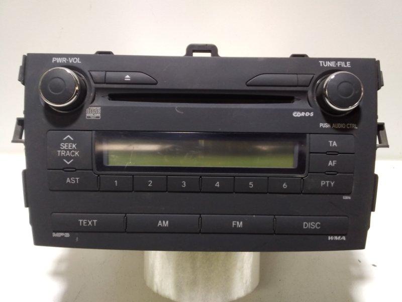 Магнитола Toyota Corolla 150 E150 2006 8612012A30 (б/у)