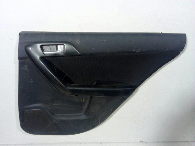 Обшивка двери Kia Cerato 2 TD 2009 задняя правая (б/у)