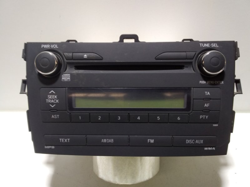 Магнитола Toyota Corolla 150 E150 2006 8612012D40 (б/у)