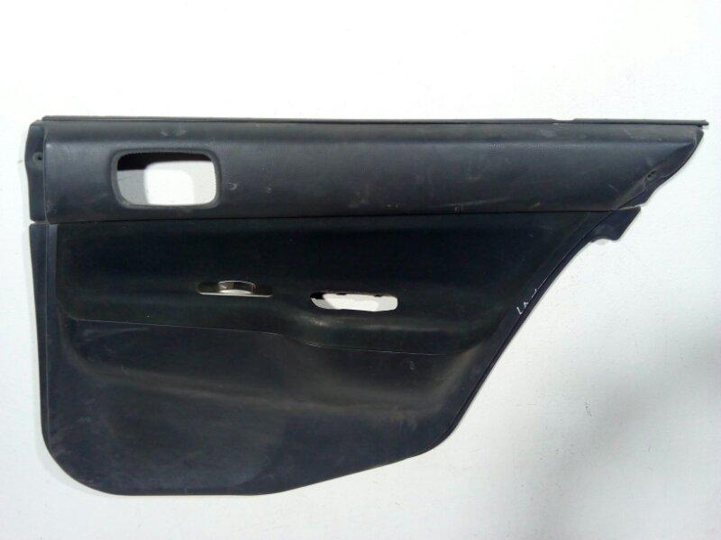 Обшивка двери Mitsubishi Lancer 9 CS 2003 задняя правая MN185242HA (б/у)