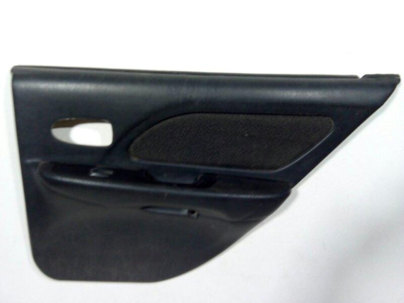 Обшивка двери задней правой Hyundai Sonata 4 NF 2001 задняя правая 833023D031LK (б/у)