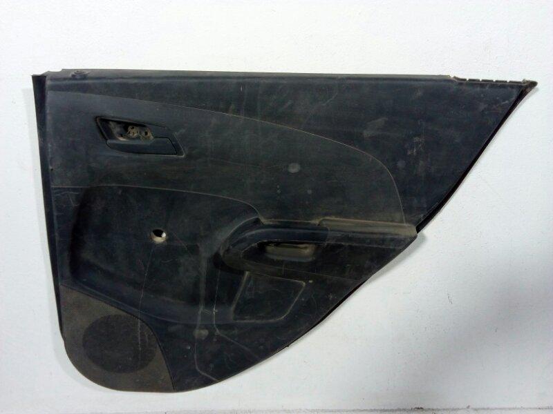 Обшивка двери Chevrolet Aveo T300 T300 2011> задняя правая 95146875 (б/у)