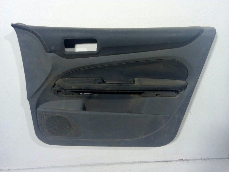 Обшивка двери передней правой Ford Focus 2 CB4 2008 передняя правая 1716092 (б/у)
