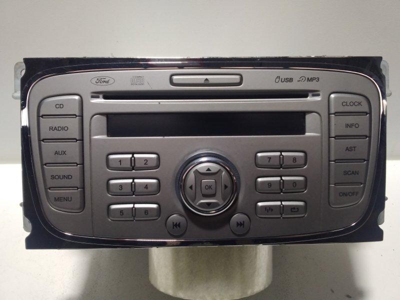 Магнитола Ford Focus 2 CB4 2008 9M5T18C939JK (б/у)