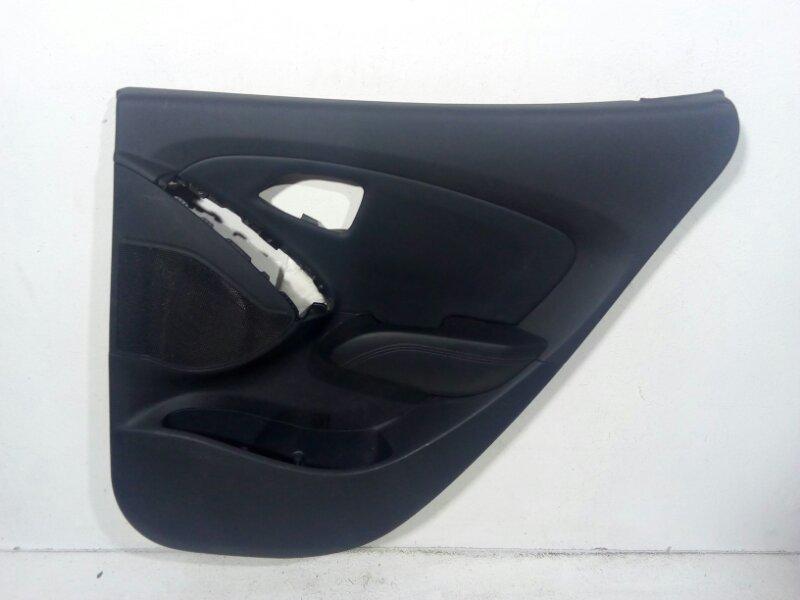 Обшивка двери Hyundai Ix35 LN 2010 задняя правая 833022Y0209P (б/у)
